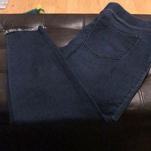 Slip Up Blue Jeans